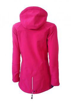 Dry Fashion Damen Softshell Mantel Sylt Regenmantel Parka Funktionsmantel Kapuze – Bild 16