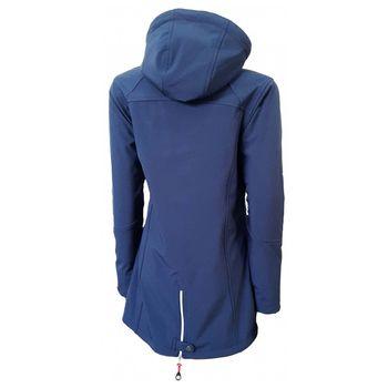 Dry Fashion Damen Softshell Mantel Sylt Regenmantel Parka Funktionsmantel Kapuze – Bild 13