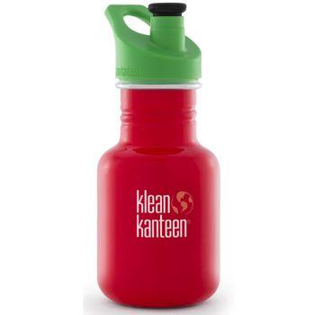 Klean Kanteen 12 oz Kid Classic mit Sport Cap - 355ml Trinkflasche – Bild 4