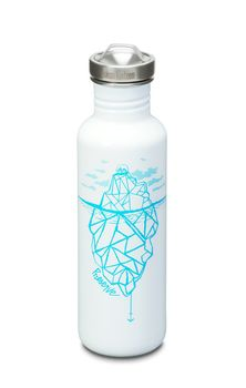 Klean Kanteen Edelstahl Trinkflasche - Classic Graphics Collection 800ml 27 oz – Bild 3