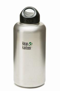 Klean Kanteen Wide mit Loop Cap - Edelstahl Trinkflasche – Bild 4