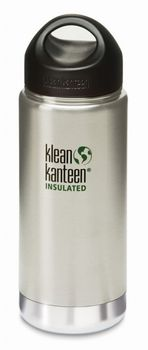 Klean Kanteen 16 oz Wide Insulated mit Loop Cap - 473ml Thermosflasche – Bild 2