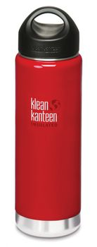 Klean Kanteen 20 oz Wide Insulated mit Loop Cap - 592ml Thermosflasche – Bild 11