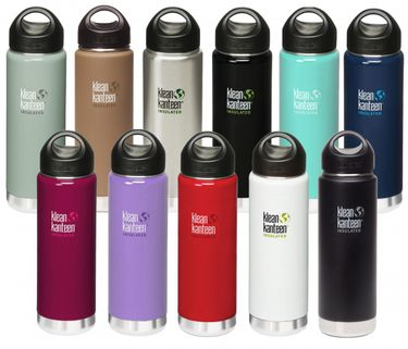 Klean Kanteen 20 oz Wide Insulated mit Loop Cap - 592ml Thermosflasche – Bild 1