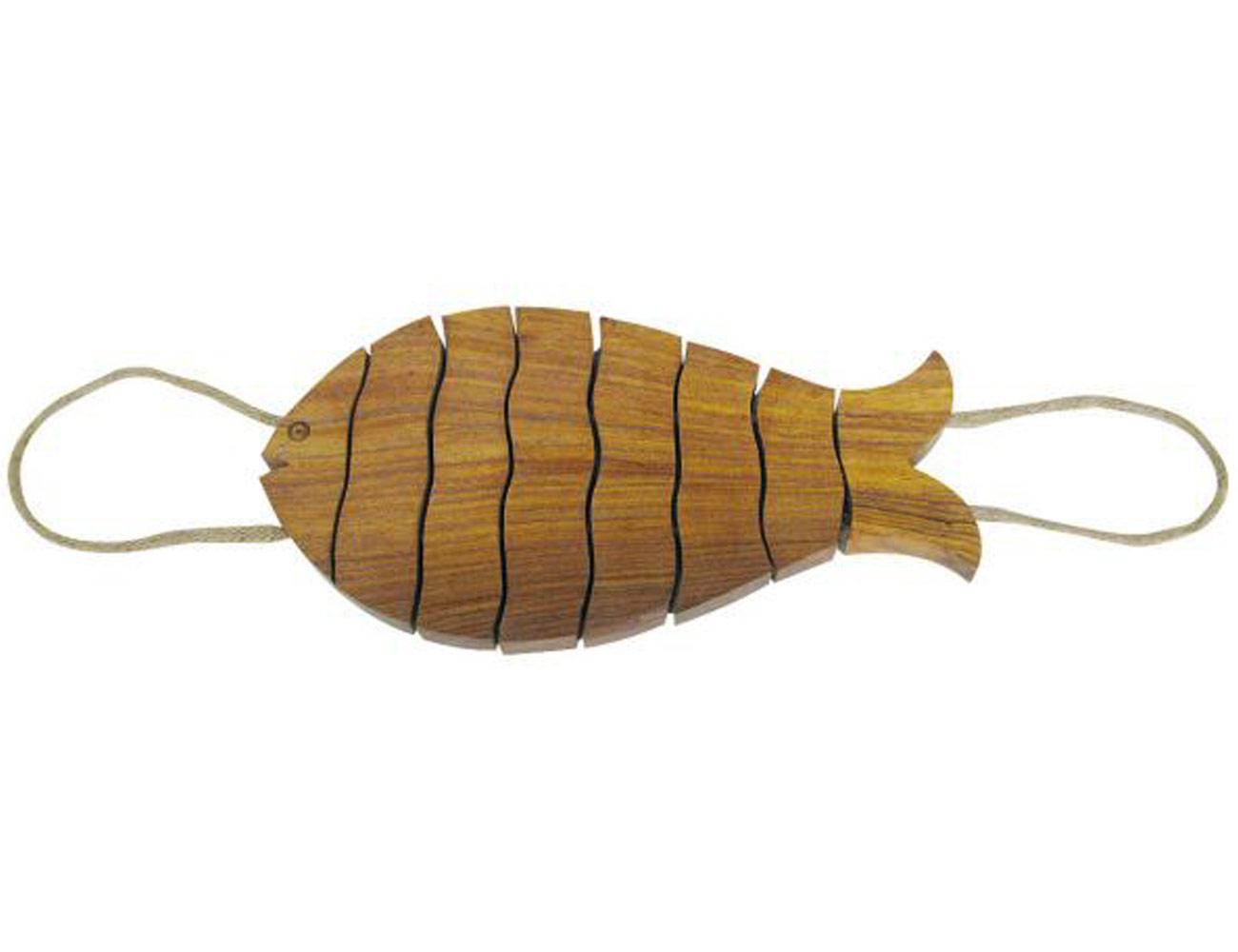Sottopentola Di Pesce Fatto Dei Sottobicchieri Di Solido Legno Pentola  #997232 1300 1000 Armadi Di Pantry