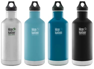 Klean Kanteen 32 oz Classic Insulated mit Loop Cap - 946ml Thermosflasche – Bild 1