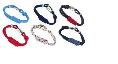 Batela Armband mit Mehrfachknoten und Schnapphaken – Bild 1