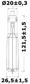 Osculati Doppel USB Adapter für Zigarettenanzünder - 2x USB & einziehbarer Mikro USB – Bild 4
