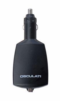 Osculati Doppel USB Adapter für Zigarettenanzünder max. 8 A - 2x USB & einziehbarer Mikro USB – Bild 1
