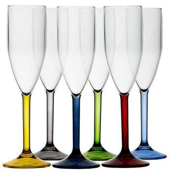 Marine Business Polycarbonat Champagner Glas - 6 Stück – Bild 1