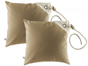 Marine Business Kissenhüllen Set wasserdicht - 40cm x 40cm - beige