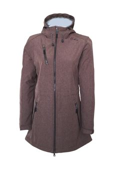 Dry Fashion Damen Softshell Mantel Kampen – Bild 13