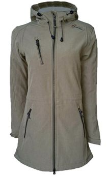 Dry Fashion Damen Softshell Mantel Kampen – Bild 2