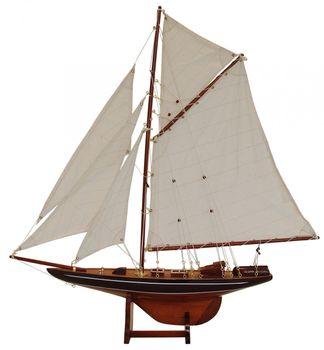 Batela Holz Modell Segelyacht Columbia Lux - 106cm