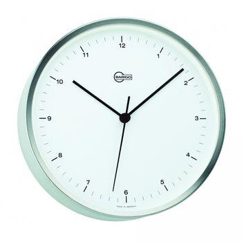 Barigo Quarz Uhr Steel mit Hintergrundbeleuchtung Edelstahl, Ø 16,2cm – Bild 1