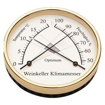 Barigo Weinkeller Klimamesser Ø 10cm – Bild 3