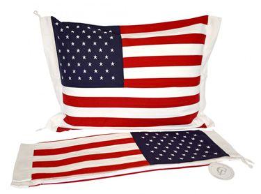 Classic Textiles Of Sweden Kissenbezug USA oder Norwegen-Flagge 50 x 60 cm – Bild 3