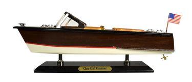 Navyline Holz-Modellboot - Amerikanisches Motorboot – Bild 3
