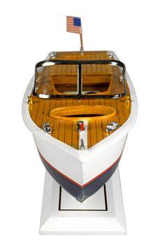 Navyline Holz Standmodell - Amerikanisches Motorboot – Bild 4
