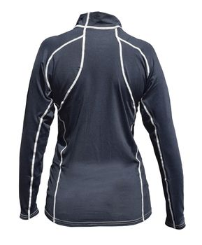 Musto Damen Herren Long Sleeved Rash Vest Black Funktionsshirt – Bild 3
