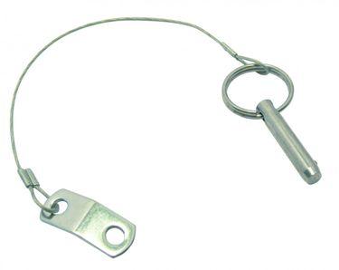 Sprenger Rudersperre mit Steckbolzen und Sicherungsseil