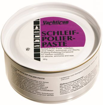 Yachticon Schleifpaste Polierpaste medium 500g
