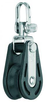 Sprenger Gleitlager Block 8 mm 1 Rolle mit Wirbel