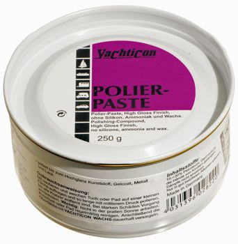 Yachticon Polierpaste High Gloss Finish M150 Schleifpaste Boot Politur