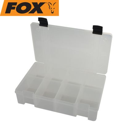 Fox Rage Stack and Store Box 8 comp large deep Clear Angelbox – Bild 2