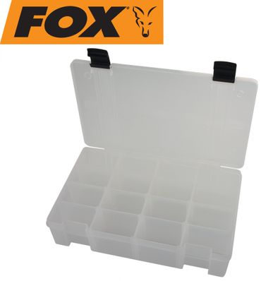 Fox Rage Rage Stack and Store Box 16 comp large deep Clear Angelbox – Bild 2