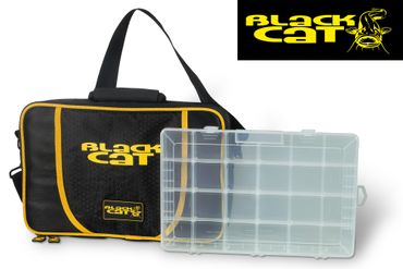 Black Cat Spinning Bag 38x25x10cm - Blinkertasche – Bild 1