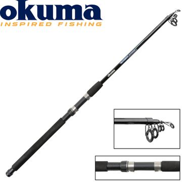 Okuma G-Force Tele Buscle 150cm 50-100g Pilkrute – Bild 1