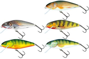 5 Salmo Wobbler Perch Köder 12cm 36g – Bild 1
