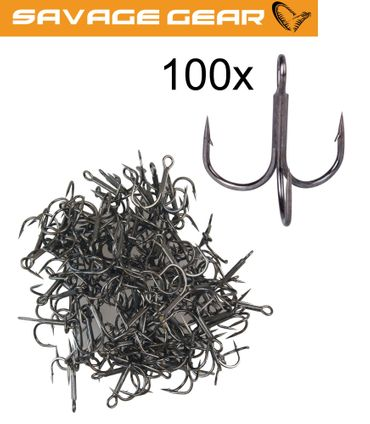 Savage Gear Y-Treble Hook - 100 Drillinge – Bild 1
