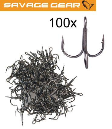 Savage Gear Y-Treble Hook - 100 Drillinge – Bild 1