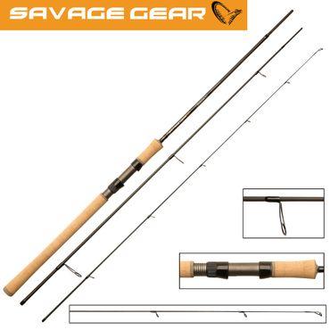 Savage Gear Parabellum CC Bombarda 345cm 12-35g Forellenrute – Bild 1