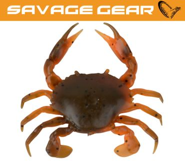 Savage Gear LB 3D Manic Crab Orange Belly Krebs Gummiköder – Bild 1