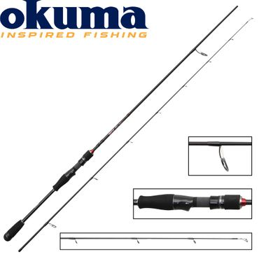 Okuma RTX Spin 180cm 0-7g - Ultra Light Spinnrute – Bild 1