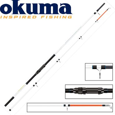 Okuma Distance Salt Beach 12ft 360cm 100-220g - Brandungsrute – Bild 1
