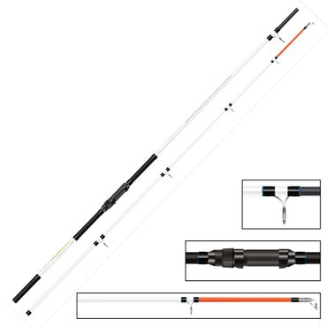 Okuma Distance Salt Beach 12ft 360cm 100-220g - Brandungsrute – Bild 2