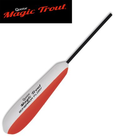 Quantum Magic Trout Bombarda Float weiß/rot - Forellenpose – Bild 1