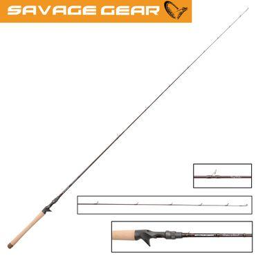 Savage Gear Custom Vertical H 187cm 60g- Spinnrute zum Vertikalangeln – Bild 1