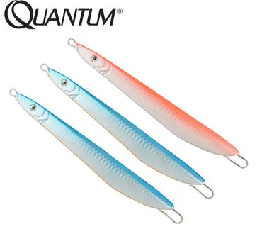 Quantum Sea Slim Jim 100g Jig Set - 2x blau, 1x orange – Bild 1