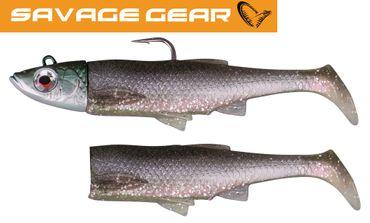 Savage Gear 3D Sardine Herring - 2 Gummifische + 1 Jighaken – Bild 1