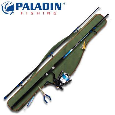 Paladin Concept-Combo Pilk Dorsch Makrele 240cm 200g + Rolle + Schnur – Bild 1