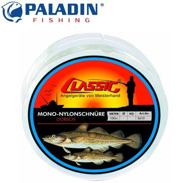 Paladin Classic Mono Nylonschnur 100m 0,60mm 17kg - Vorfachschnur – Bild 1