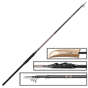 Trout Master Tactical Trout Tele 3,60m 10-15g - Forellenrute – Bild 2