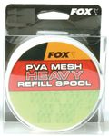 Fox PVA Narrow Funnel Heavy Mesh Refill 25m 001