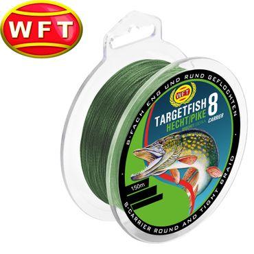 WFT TF8 Hecht green 150m - Hechtschnur – Bild 1