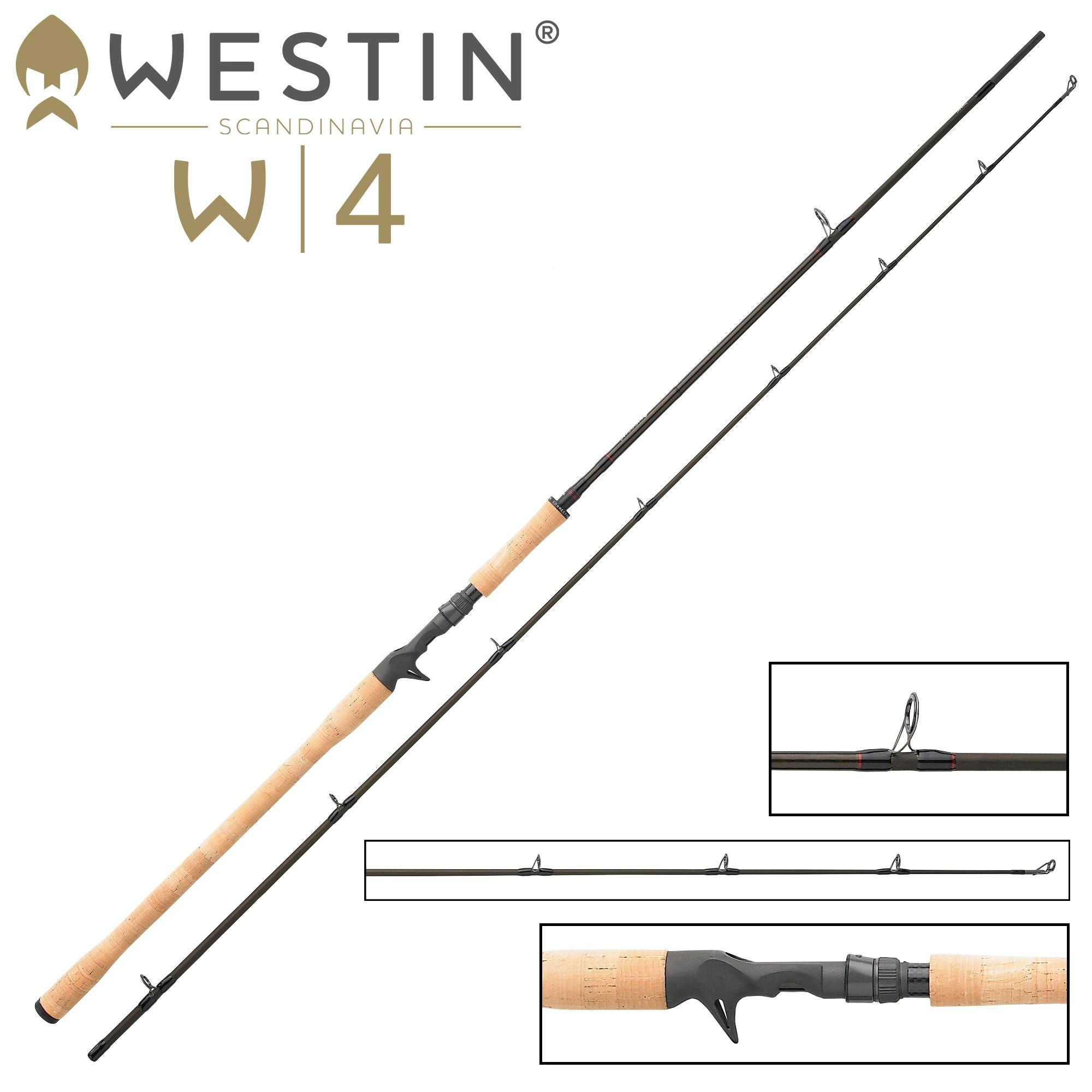 Zander und Barsch Westin W4 Powershad 240cm XH 30-90g Spinnrute für Hecht